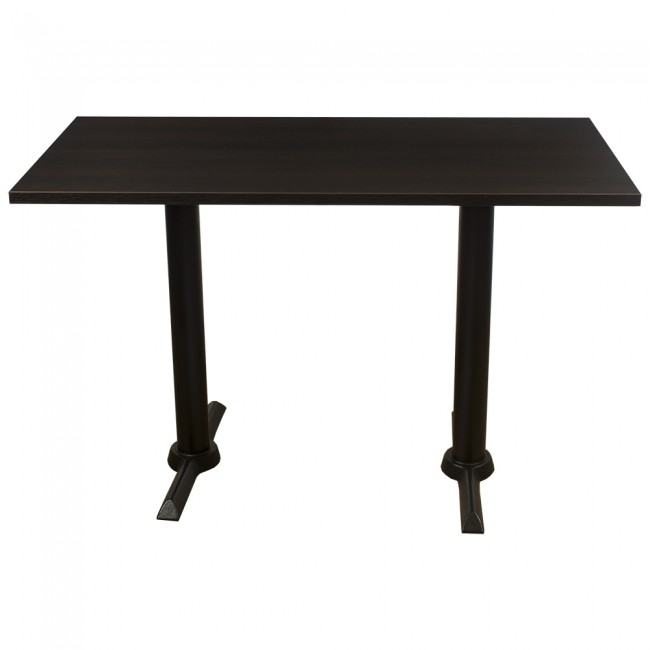 Wenge complete samson 120x60cm table - Table wenge verre ...