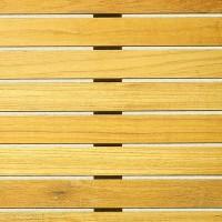 700mm x 700mm Square Teak Werzalit Table Top
