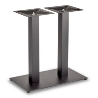 Trafalgar - Dining Height Rectangle Twin Table Base (Square Column)