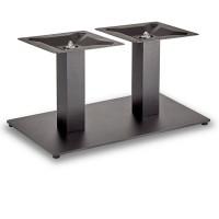 Trafalgar - Coffee Height Rectangle Twin Table Base (Square Column)