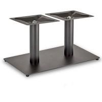 Trafalgar - Coffee Height Rectangle Twin Table Base (Round Column)
