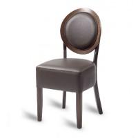 Hyde Louis Side Chair - Mocha