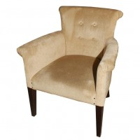 Beige Upholstery Tub Chairs