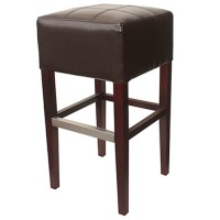 Brown Covent Bar Stool Without Back