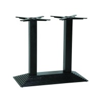 Step Rectangle Twin Dining Height Table Base