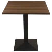 Walnut Complete Mayfair Step 60cm Table
