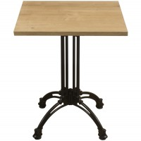 Forest Oak Complete Square Continental 60cm Table