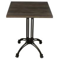 Dark Oak Complete Square Continental 60cm Table