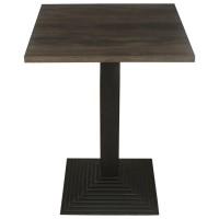 Dark Oak Complete Mayfair Step 60cm Table