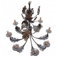 Leaf & Candle Chandeliers