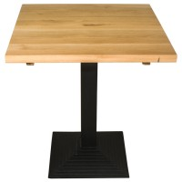 Oak Complete Mayfair Step 2 Seater Table 35mm Thick Real Oak