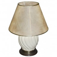 Cream Ceramic Bedside Lamps