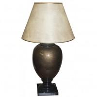 Brown Ceramic Bedside Lamp