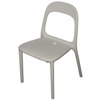 One Piece Moulded Plastic Chair