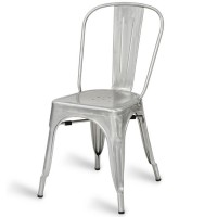 Eiffel Side Chair - Galvanised