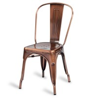 Eiffel Side Chair - Vintage Copper Effect