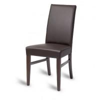 Hyde High Back Side Chair - Mocha
