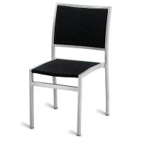 Outdoor Aluminium & Weave Side Chair