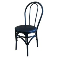 Used Bistro Style Metal Side Chair