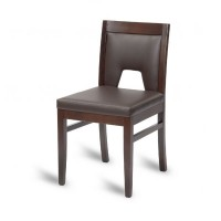 Hyde Ornate Octa Side Chair - Mocha