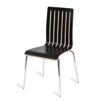 Lucca Black Cafe Chair