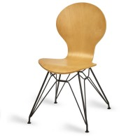 Mile Side Chair, Natural, M Frame