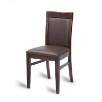 Hyde Ornate Side Chair - Mocha