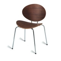 Saxon Side Chair American Walnut