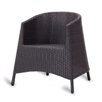 Malta Weave Outdoor Stacking Tub Chair