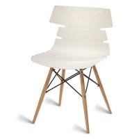 Thames White Side Chair