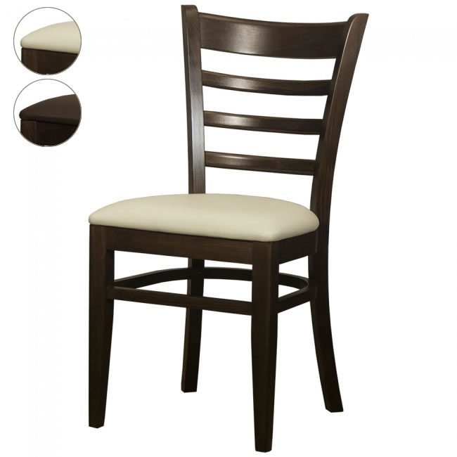 ladderback restaurant chairs
