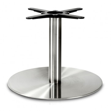 Fleet - Coffee Height Round Large Table Base (Round Column)