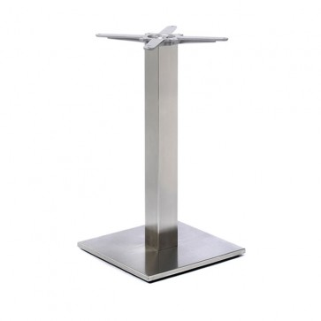 Fleet - Lounge Height Square Small Table Base (Square Column)
