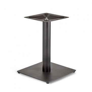 Trafalgar - Lounge Height Square Small Table Base (Round Column)