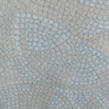 600mm Round Blue Mosaic Werzalit Table Top