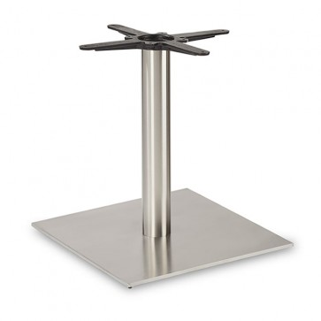 Fleet - Lounge Height Square Large Table Base (Round Column)