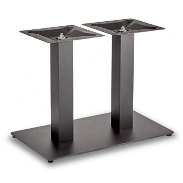 Trafalgar - Lounge Height Rectangle Twin Table Base (Square Column)
