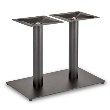 Trafalgar - Lounge Height Rectangle Twin Table Base (Round Column)