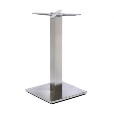 Fleet - Dining Height Square Small Table Base (Square Column)