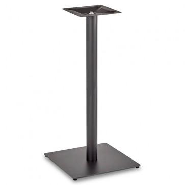 Trafalgar - Poseur Height Square Large Table Base (Round Column)