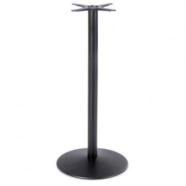 Black Dome Medium Poseur Height Table Base