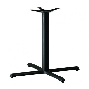 Black Samson B5 Dining Height Table Base Large