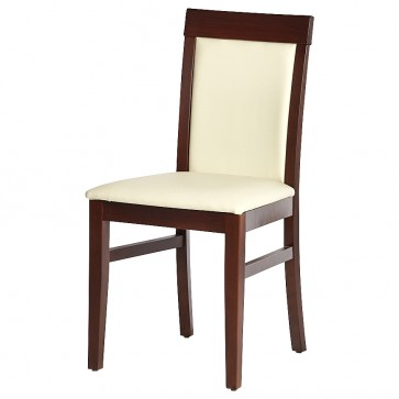 Downton Walnut / Cream Side Chair