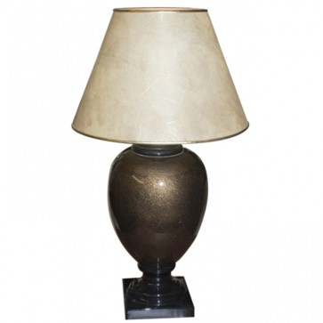 Brown Ceramic Bedside Lamp