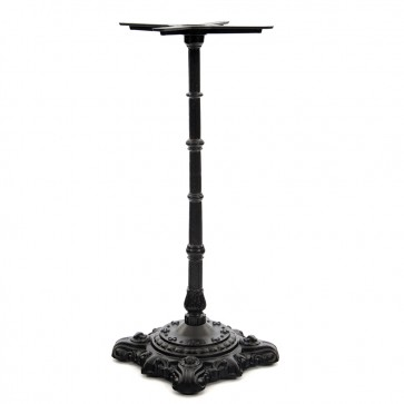 Hereford Cast Iron Poseur Height Table Base