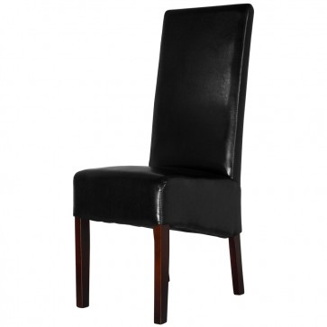 Black Covent High Back Dining Chair