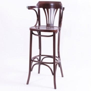 Bentwood Norma Bar Stool - Walnut