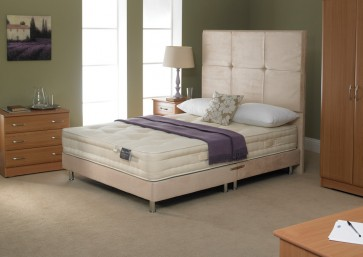 5FT King Size 1500 Pocket Sprung Mattress & Base