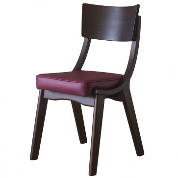 Ripple Walnut / Wine - Restaurant Dining Chairs