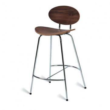 Saxon Stool 660 Chair American Walnut